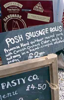 Posh Pasty Co at Trenython Manor's Family Fun Weekend