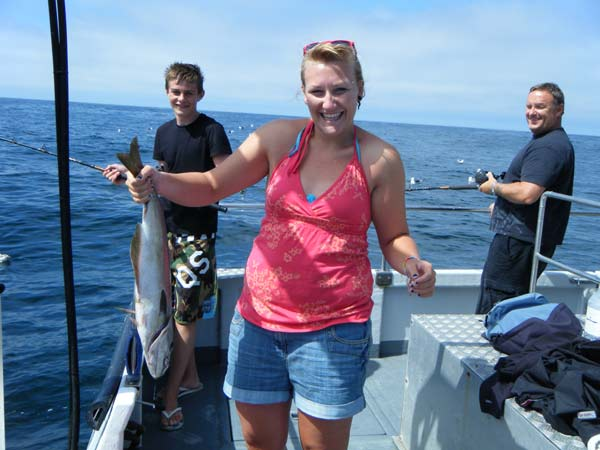 Fishing off the Newquay coast onboard the Atlantic Diver.