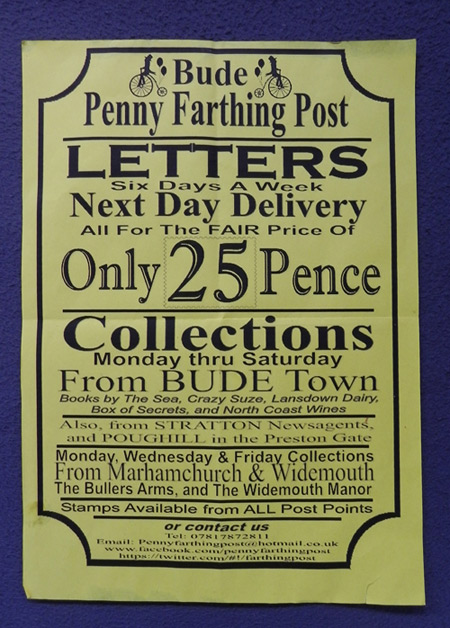 Penny Farthing Post