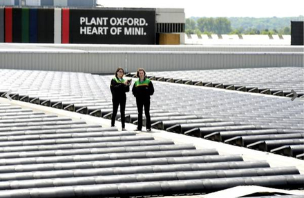 Plant Oxford Heart of MINI Solar Panels