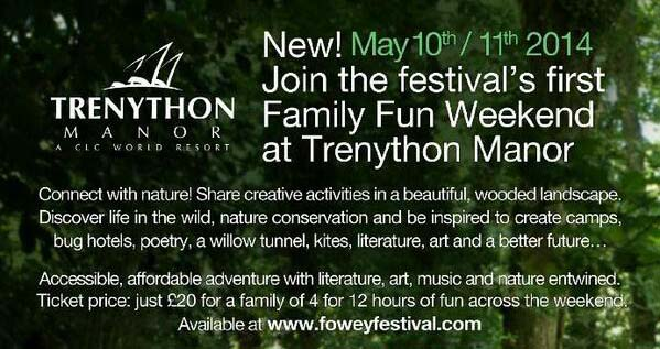 Inspired by Nature - Trenython Manor's Family Fun Weekend